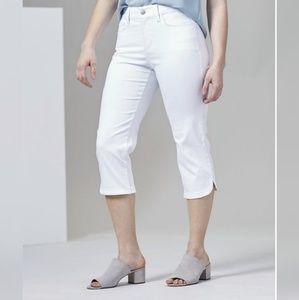 NYDJ Ariel Stretch Crop Jeans, sz 4
